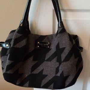 Kate Spade Houndstooth Handbag